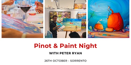 Pinot & Paint | A Night of Art with Peter Ryan tickets