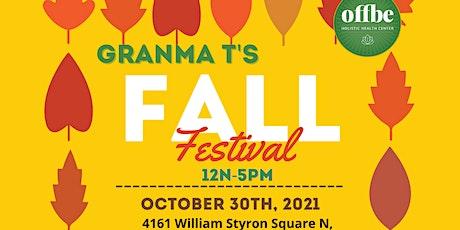 Granma T's Fall Festival tickets