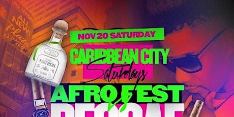 Afrobeats vs Reggae & Soca @ Caribbean Saturdays tickets