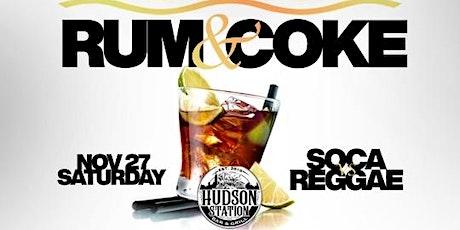 Rum & Coke @ Caribbean Saturdays tickets