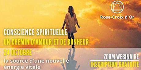 Conférence Publique - Conscience Spirituelle  - un chemin d'Amour - Bonhour billets