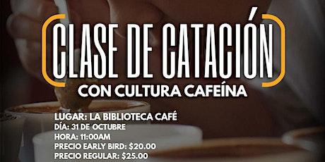 Clase de Catación con Cultura Cafeína entradas