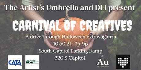 The Artist's Umbrella and DLI present: Carnival of Creatives tickets