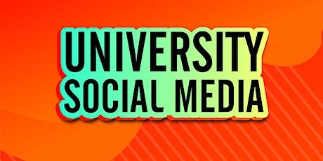 University Social Media: Get Schooled tickets