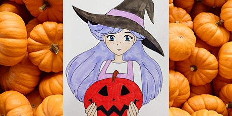 Anime Halloween Drawing Workshop tickets