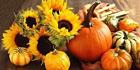 Fall Pumpkin Arrangement Workshop tickets