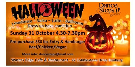 Halloween Dance & Hamburgers - Bunbury tickets