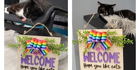 Crafting with Cats - Welcome, hope you like cats tickets