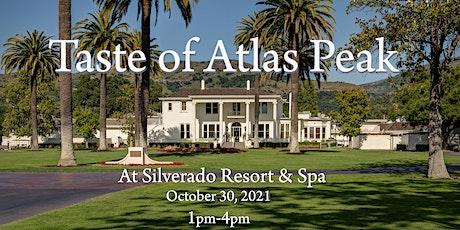 "The 10th Annual ""Taste of Atlas Peak"" at Silverado Resort & Spa tickets"