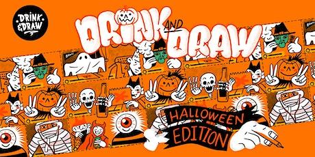 Drink and Draw - Halloween Edition boletos