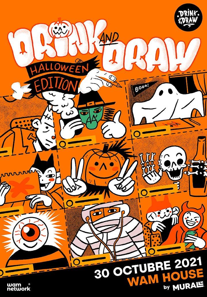 Imagen de Drink and Draw - Halloween Edition