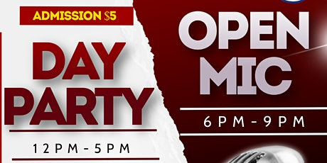 Blue Hill Media Group Presents: Day Party/ Open Mic tickets