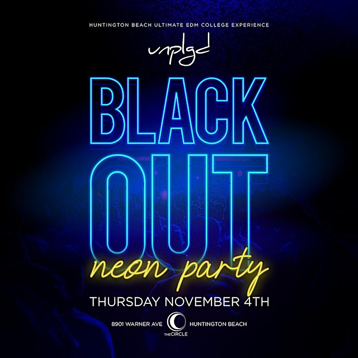 Black Out Neon Party image