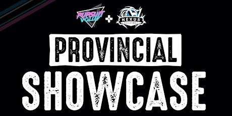 Provincial Showcase tickets