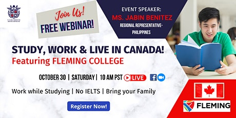 Study in Canada featuring Fleming College tickets