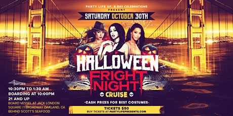 HALLOWEEN FRIGHT NIGHT COSTUME CRUISE 2021 tickets