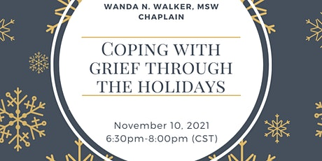 Coping with Grief Through the Holidays tickets