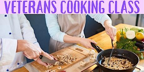 Veterans Cooking Class tickets