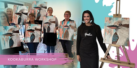 Paint with Shell at Berowra District Hall - Kookaburra Workshop tickets