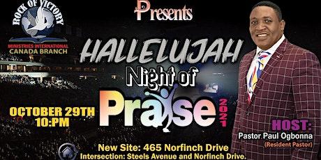 HALLELUJAH NIGHT OF PRAISE 2021 tickets