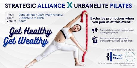 SA x UE:  Get Healthy, Get Wealthy! tickets