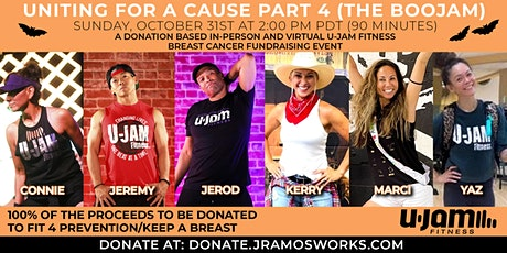 UNITING FOR A CAUSE 4 - U-JAM BREAST CANCER FUNDRAISING EVENT (THE BOOJAM) billets