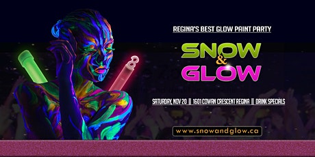 Snow & Glow - Neon Paint Party tickets