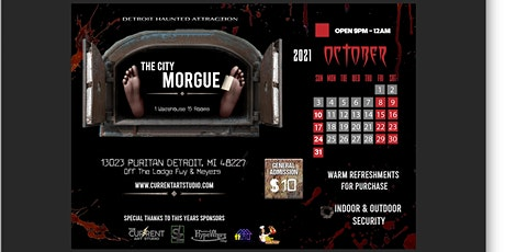 DETROIT HAUNTED HOUSE : THE CITY MORGUE tickets