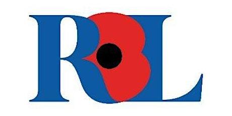 Royal British Legion Warwick Branch - 100th Anniversary  Celebration tickets