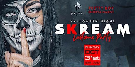 SKREAM Halloween  Party @ Revere Hotel Boston tickets