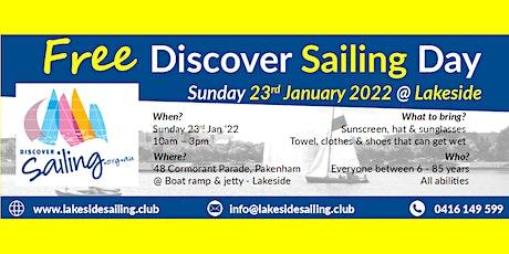 Free Discover Sailing Day @ Lakeside Pakenham tickets