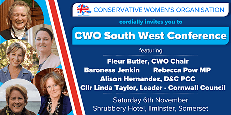 CWO South West Conference tickets