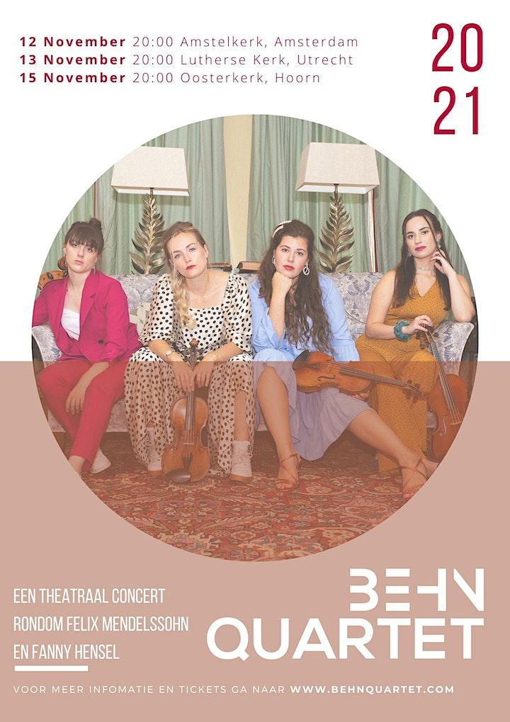 Fanny's Salon // Behn Kwartet image