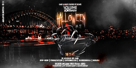 VOLUME HALLOWEEN  BOAT PARTY  VOL37 tickets