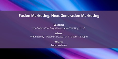 Fusion Marketing, Next Generation Marketing tickets