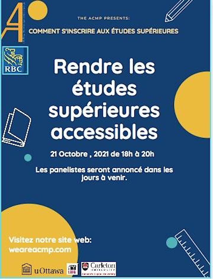 """""""Comment s'inscrire aux études supérieures"""" : Rendre les études supérieur image"""