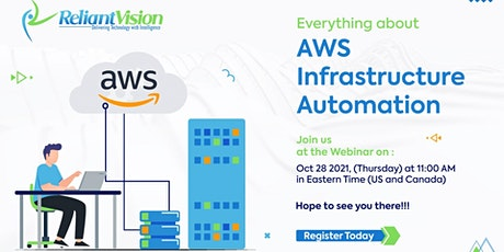 Free Webinar on AWS Infrastructure Automation tickets