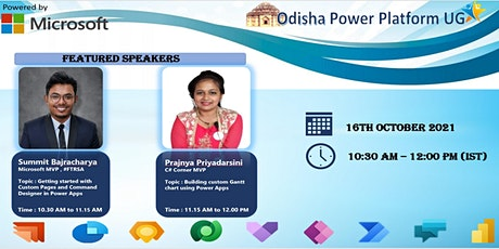 Odisha Power Platform User Group , October Meetup tickets