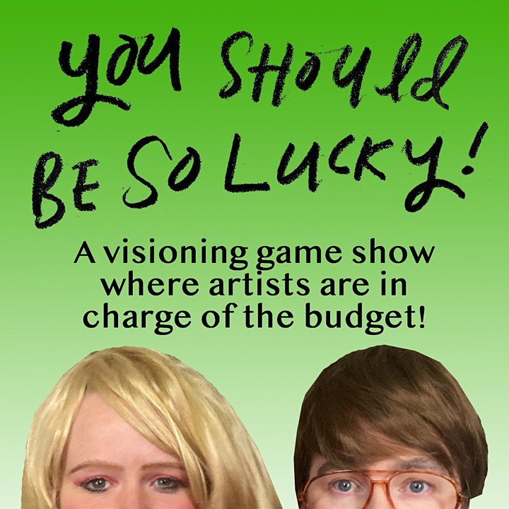 YOU SHOULD BE SO LUCKY! image
