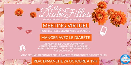 Les Diabéfilles - Manger avec le diabète billets