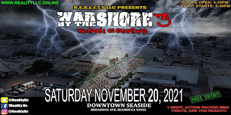 War By The Shore 3 tickets