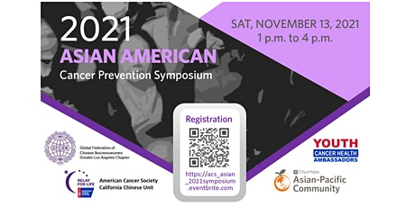 2021 American Cancer Society Asian American Cancer Prevention Symposium tickets