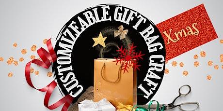 Customizable Gift Bag Craft tickets