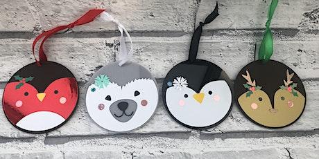 Christmas Woodland Animals Decoration Workshop with Jenny Wren tickets