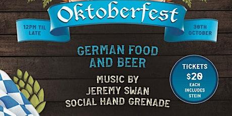 Oktoberfest @ The Palm tickets