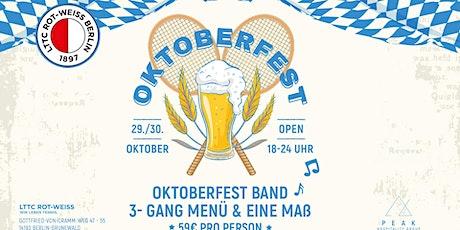 """LTTC """"Rot-Weiss"""" Oktoberfest Tickets"""