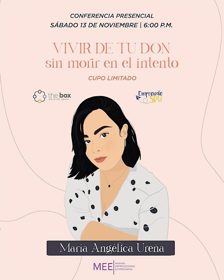 Imagen de Conferencia de María Angélica Ureña en Emprende SDQ