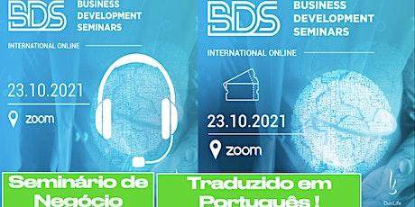 BDS - SEMINÁRIO DE DESENVOLVIMENTO DE NEGÓCIO DuoLife bilhetes