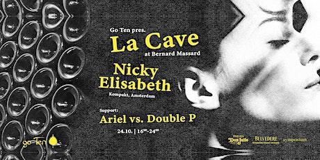 La Cave with Nicky Elisabeth billets