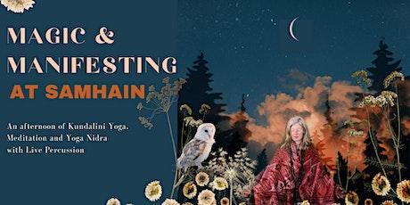 Magic and Manifesting - Samhain - Kundalini Yoga, Yoga Nidra and Live Music tickets